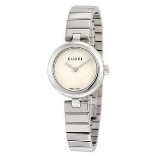 Gucci Gucci Diamantissima White Dial Stainless Steel Ladies Watch