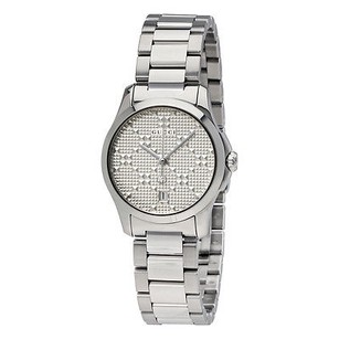 Gucci Gucci G-timeless Silver Dial Stainless Steel Ladies Watch