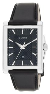 Gucci Gucci G-Timeless Stainless Steel & Leather Watch