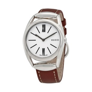 Gucci Gucci Horsebit Silver Dial Ladies Watch