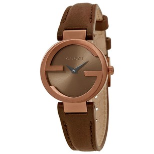 Gucci Gucci Interlocking Brown Dial Ladies Watch