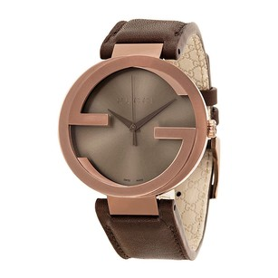 Gucci Gucci Interlocking G Brown Dial Brown Mens Watch