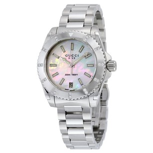 Gucci Gucci Mother of Pearl Dial Mens Watch