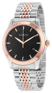 Gucci GUCCI Timeless Red Gold PVD Men's Watch YA126410