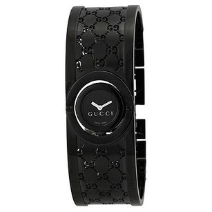 Gucci Gucci Twirl Black Dial And Stainless Steel Ladies Watch