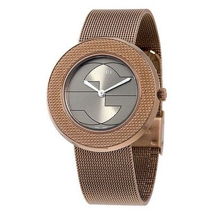 Gucci Gucci U-play Brown Dial Pvd Stainless Steel Ladies Watch