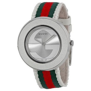 Gucci Gucci U Play Silver-tone Dial Ladies Watch