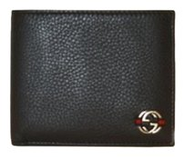 Gucci Gucci Wallet Dark Navy Blue (Like Black) Leather (Men)