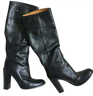 Gucci Knee Highs Black Boots