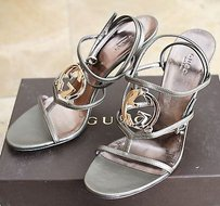 Gucci Leather Greens Sandals