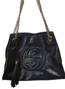 Gucci Leather Shoulder Bag
