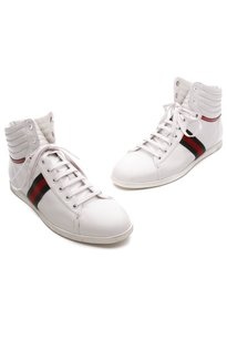 Gucci Leather Sneakers 9us White Athletic