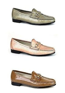Gucci Womens 1953 Leather Flats