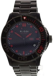 Gucci Mens Gucci G Timeless Sport Stainless Steel Watch 13190091