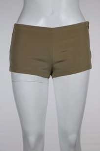 Gucci Womens Mini Shorts Tan