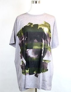 Gucci Cotton Floral Oversize T Shirt Multi-Color