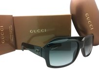 Gucci GUCCI Sunglasses Black Frame with Grey Gradient Lenses