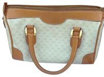 Gucci Satchel in Khaki And White