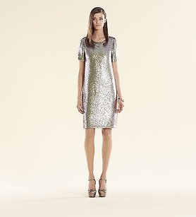 Gucci short dress Iridescent Pale Green Runway on Tradesy