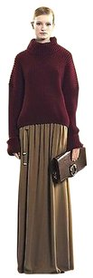 Gucci Silk Long 292849 Skirt Brown