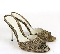 Gucci Horsebit 317049 9742 Beige Sandals