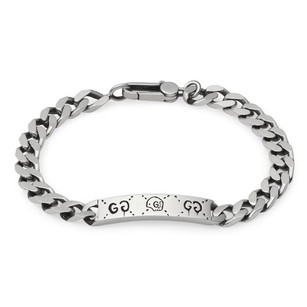 Gucci Sterling Silver Gucci Ghost Bracelet