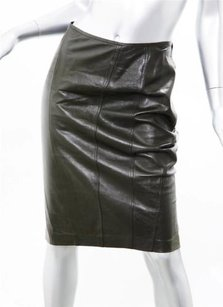 Gucci Womens Dark Skirt Brown