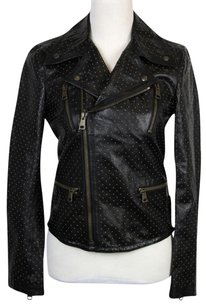 Gucci Studded Leather Biker Motorcycle Jacket