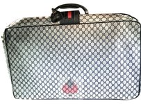 Gucci Suitcase Blue & Grey (Guaranteed Authentic) Travel Bag