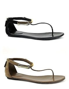 Gucci Coraline Suede Gold Bamboo Detail 338744 Sandals