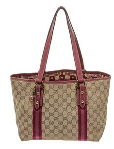 Gucci Tote in Brown/Pink