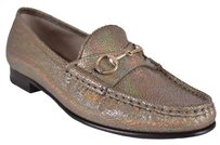 Gucci Women's Loafers Opalescent Fawn (Taupe) Flats