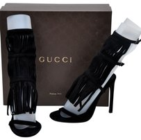 Gucci Womens Designer Black Sandals