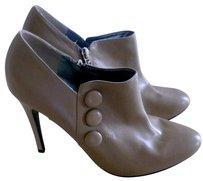 Guess By Marciano Unworn Leather Button Grey Boots