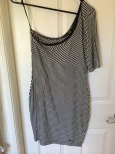 Guess One Striped Bodycon Dress