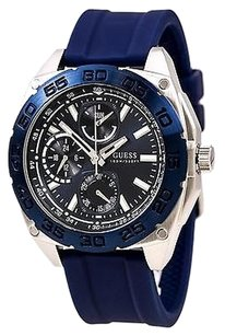 Guess Guess,Silicone,Chronograph,Mens,Watch,U0486g1