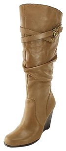 Guess Womens Leather brown Boots