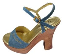 Guess Heels Tall Denim Sandals