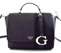 Guess Swim Coal Satchel Cross Body Bag
