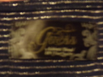 Guess Casual T Shirt Navy /Silver stripe