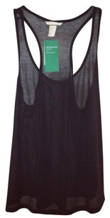 H&M Hm Nwt Racerback Sheer Top black
