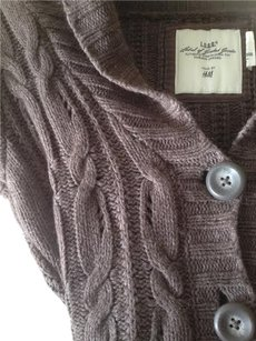 H&M L.o.g.g. Cable-knit Vest
