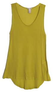 H&M Top chartreuse green