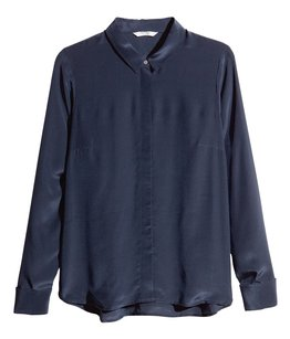 H&M Top Dark Blue