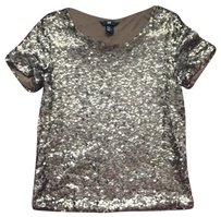 H&M Top Gold