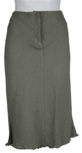 Hache Womens Pencil Skirt Gray