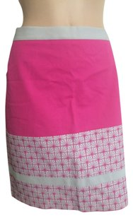 Halogen Skirt Hot Pink Grey.