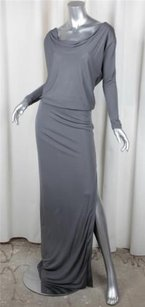 Maxi Dress by Halston Heritage Womens Gray