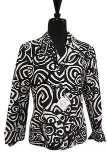 Harvé Benard Benard Black & White Jacket