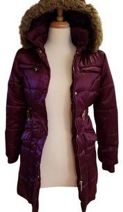 Hawke & Co Hooded Fitted Belted Junior Coat